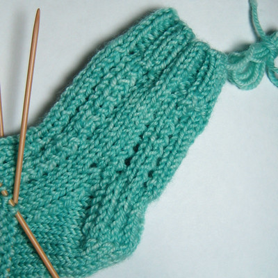 Lacy Baby Sock