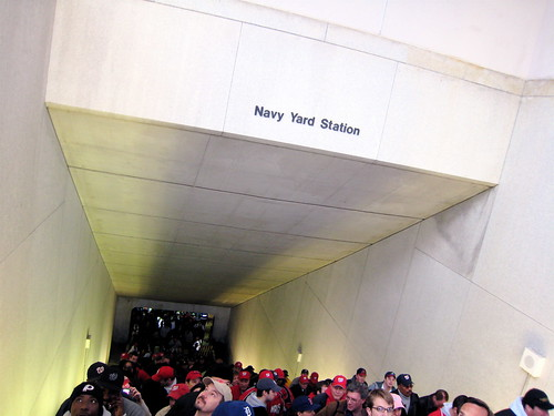 Navy Yard Metro Station - Nationals Park
