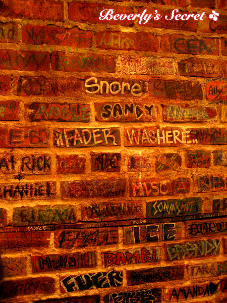 wall writing
