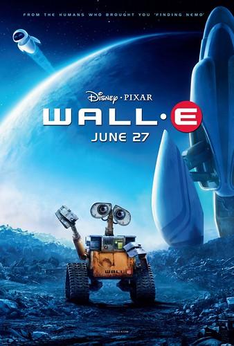 Nuevos pósters y trailers pendientes de 'Wall-E'
