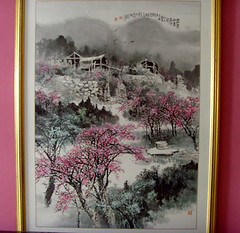 peach blossoms-painting