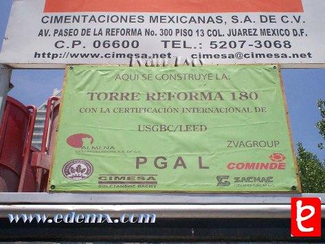 Reforma 180, informe de construcción. ID308, Iván TMy©, 2008