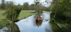 Canal Barge (hazelbee) Tags: canal barge waterway englandcountryside