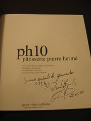 Pierre Hermé: My signed PH10
