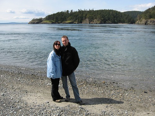 Heiko and me at puget sound