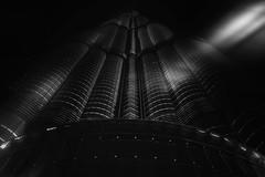 ...uptoinfinity II... (*ines_maria) Tags: burjkhalifa skyscraper dubai downtowndubai uae architecture pov lookup monochrome building city urban urbanart blacksky tower infinity blackandwhite noiretblanc mono talleststructureintheworld 8298m panasonicdmcgx8