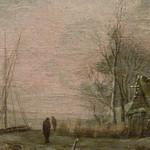 CAPPELLE Jan (van de),1653 - Paysage d'Hiver avec des Joueurs de Kolf (Custodia) - Detail 08 thumbnail