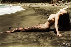 Mermaid on the beach