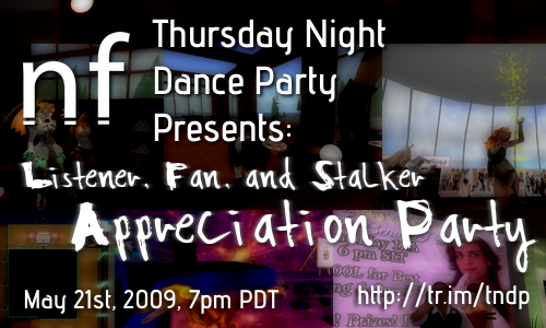 Thursday Night Dance Party: Appreciation Party