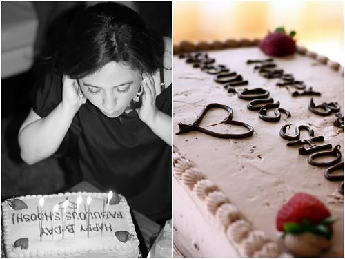 Shoosh cake