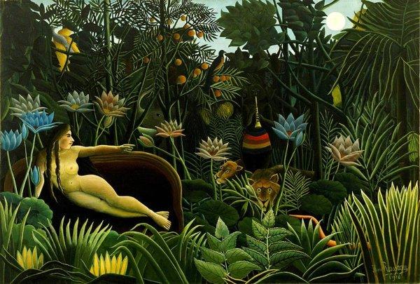 Henri Rousseau - Il sogno