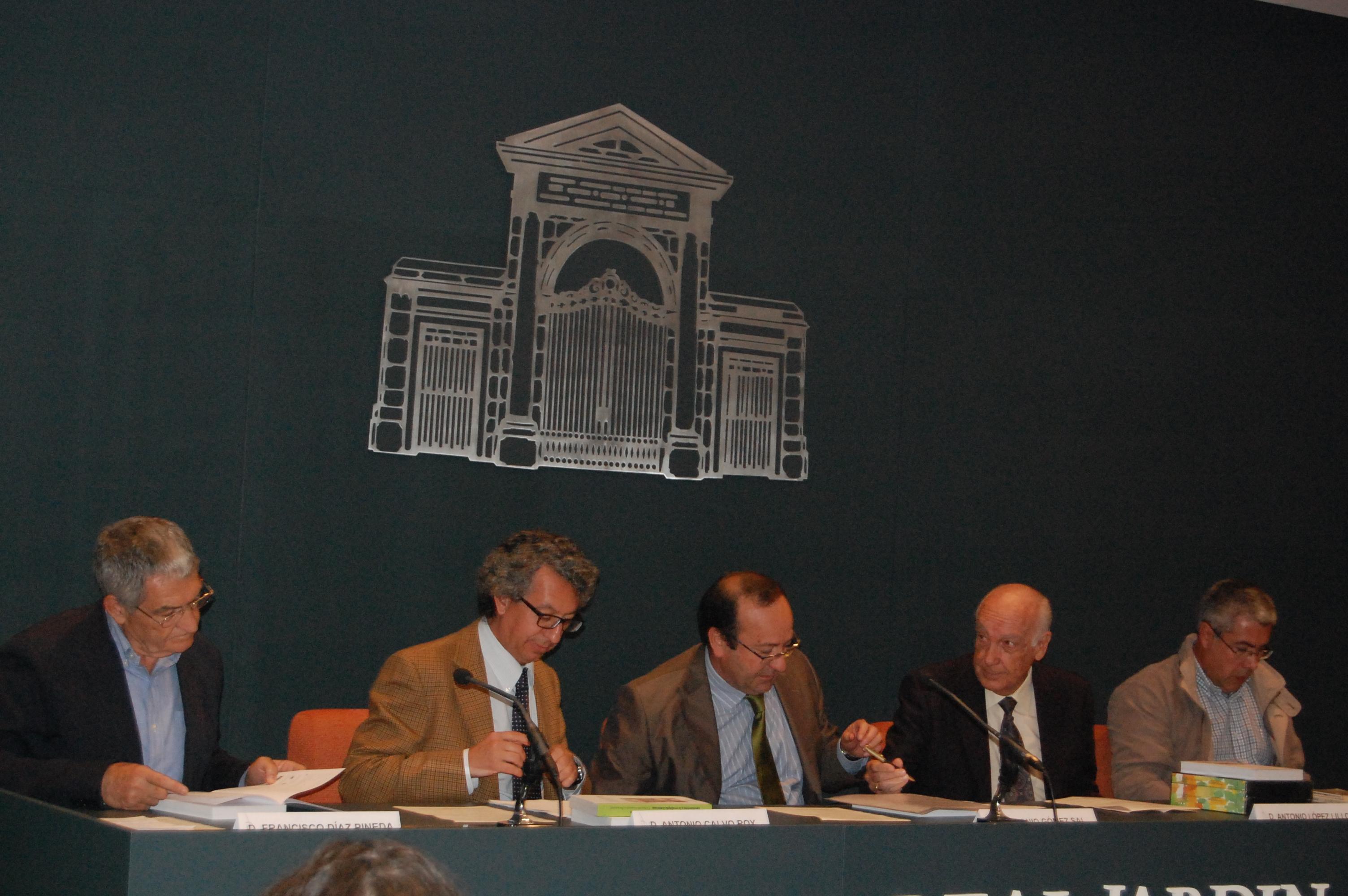 Ponentes Acto Reedición libros de González Bernáldez