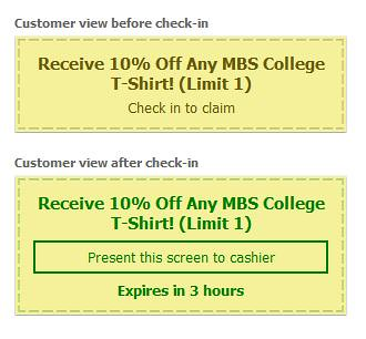 MBS Foreword Online - MBS Online Coupon Example