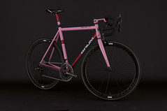 GTA Giro Pink, Red (Baum Cycles) Tags: pink bike bicycle steel baum giro campagnolo ristretto