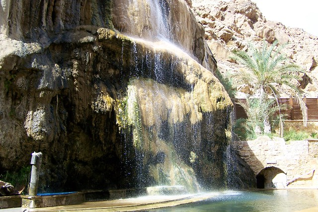 Thermal spa Ma'in Jordan