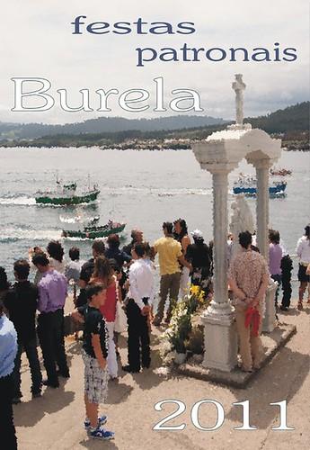 Burela 2011 - Festas patronais - cartel