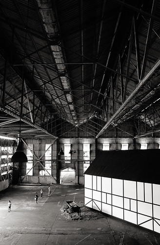 Hangar interior, Old Kallang Airport