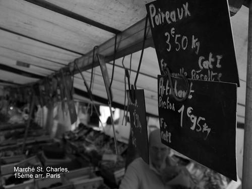 Leeks for Sale! 15ème arr. Paris by atl10trader