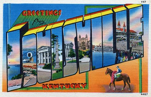 Postcard Louisvill