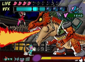 Viewtiful Joe Gamecube Screenshot
