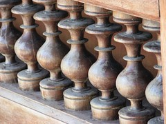 Beautiful Lathe turned Balusters (chatts) Tags: india canon kerala wanderlust bullet karnataka lifeisgood tamilnadu royalenfield nilgiris chatts bandipur wyanad