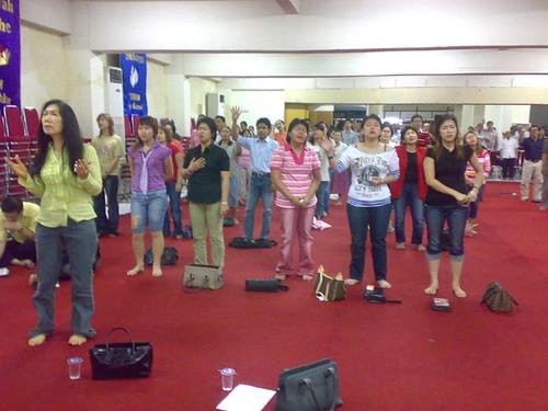 Kebaktian Doa Pemulihan 2007 Gereja Bethany Makasar
