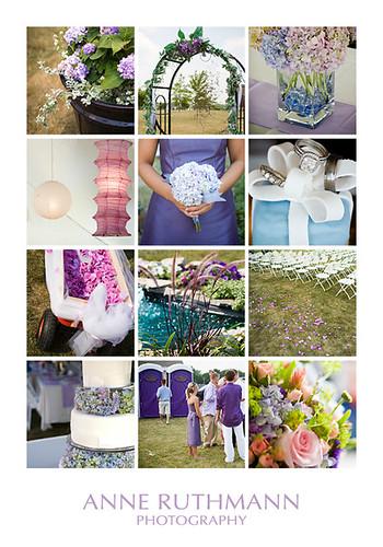 spring beach wedding colors