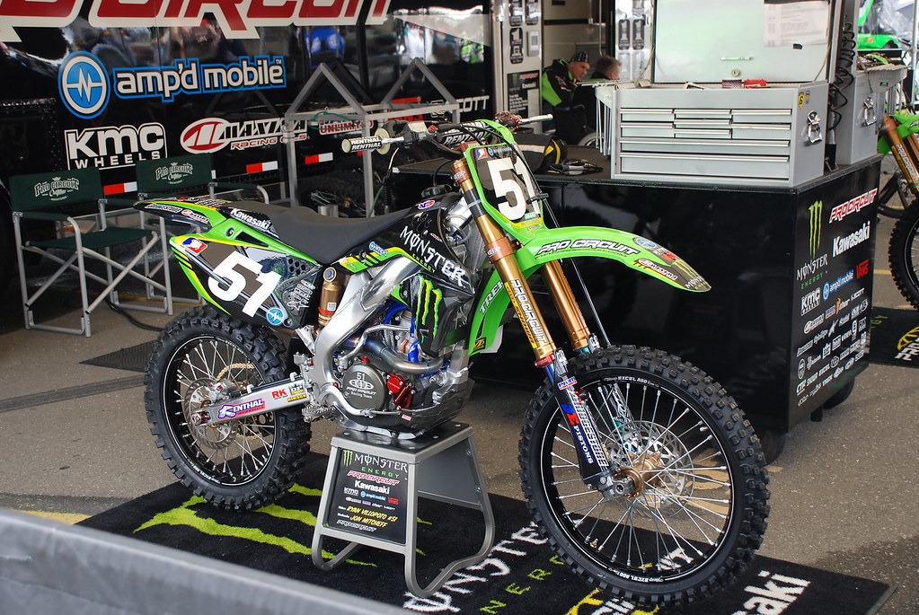 Ryan Villopoto's Monster Energy Kawasaki KX250F