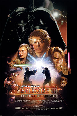 Star Wars Episode III: Revenge of the Sith (2005) one sheet