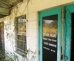 Store Hours (tantrum_dan) Tags: building abandoned store florida olympus hours healing sanctuary sabbath e500 wauchula tantrumdan tantrumimagery