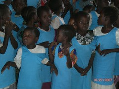the Galana children's choir 1