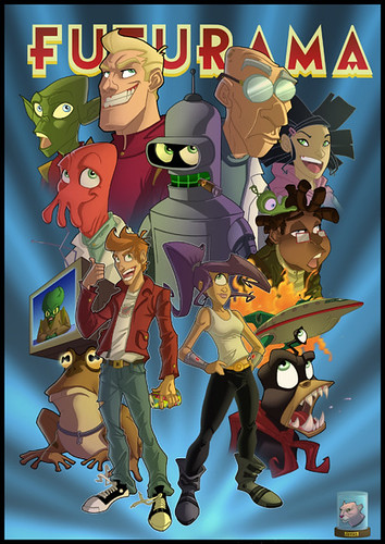 #015 Futurama made in Cartoon Network