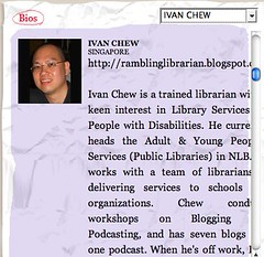 Singapore Writers Festival - Ivan Chew