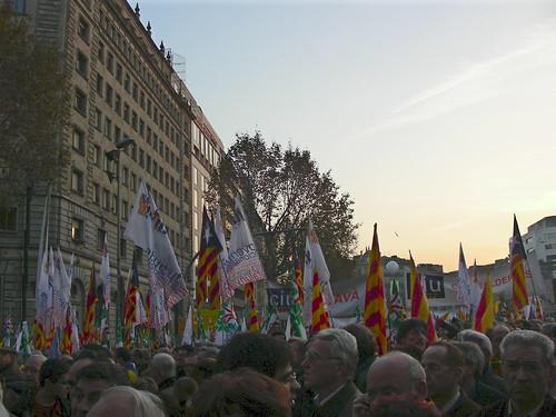 Plaça Catalunya CiU