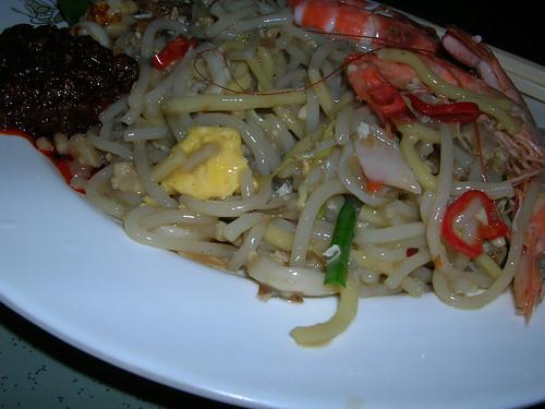 Singapore Hokkien noodles