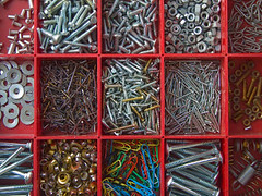 iStock_000001185076XSmall (webworksdotcom) Tags: home metal screws diy artist factory box steel pins tools nails boxes everyday sort washers assortment paperclips types organized rectangular toolbox sorted assemblyline