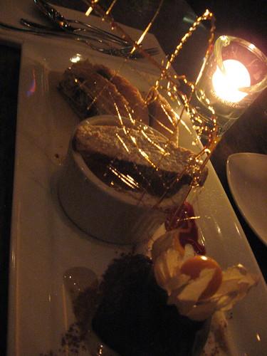 Sanafir Dessert Trio