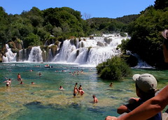 Holidays will come ....soon;-) (Bea Kotecka *Come back :) *) Tags: vacation people nature swimming bravo stream picnic croatia olympus falls rapids waters hugskisses sp350 allrightsreserved npkrka aplusphoto holidays07 middledalmacja theperfectphotographer beakotecka