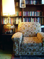 reading chair (b.new.man.) Tags: coffee shop reading chair books bookstore drbombays