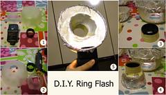 DIY Ring Flash (Latente  www.latente.it) Tags: ikea diy ringflash lampista strobist wwwmferrarioitlatente ilringflashlostatussimboldellostrobista flickr:user=latente