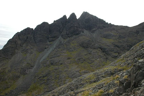 Pinnacle ridge (the climbers way up)