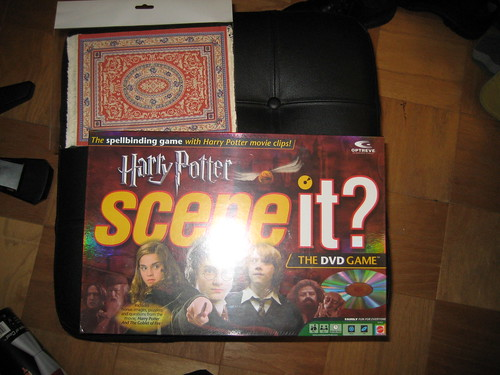 Geeks.com Harry Potter Scene it Game and Oriental Rug Mousepad