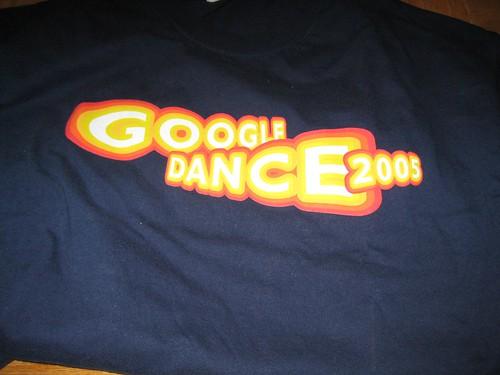 Google Dance 2005 T-Shirt