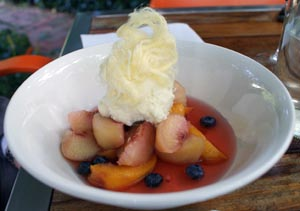 stone fruit at pod