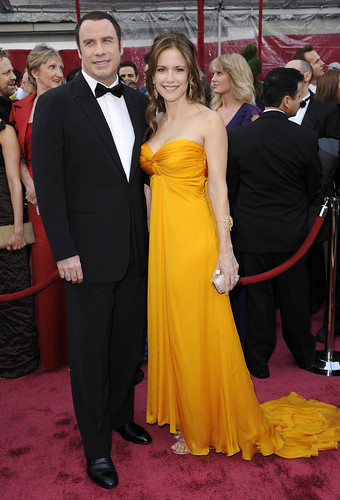 John Travolta y Kelly Preston alfombra roja