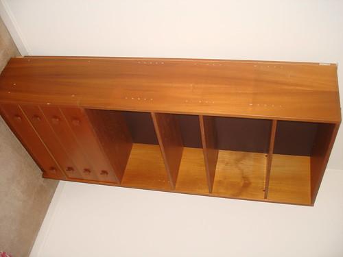 Bookshelf with drawers - free