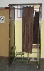 cabina votación