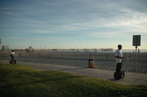 Venice Beach California Ocean Front Walk Segway