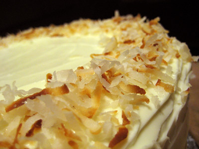 Tropical Carrot Cake With Coconut Cream Cheese Frosting Recipe ...