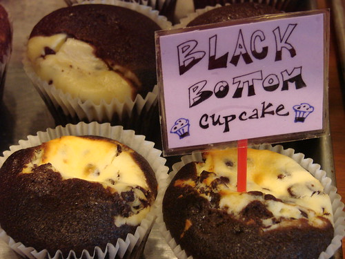 Black Bottom Cupcakes from Alice's Teacup